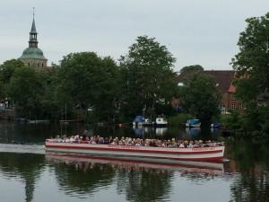 Bootsfahrt auf der Eider