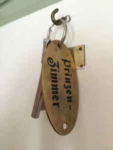 Prinzenzimmer Schlüssel
