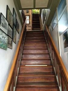 Treppenaufgang ins 1. OG